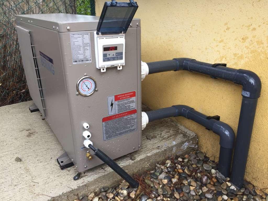 PAC pompe à chaleur ext